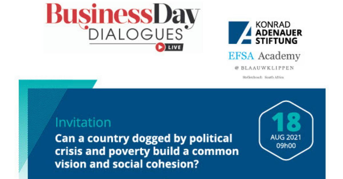 Can a country dogged by political crisis and poverty build a common vision and social cohesion?