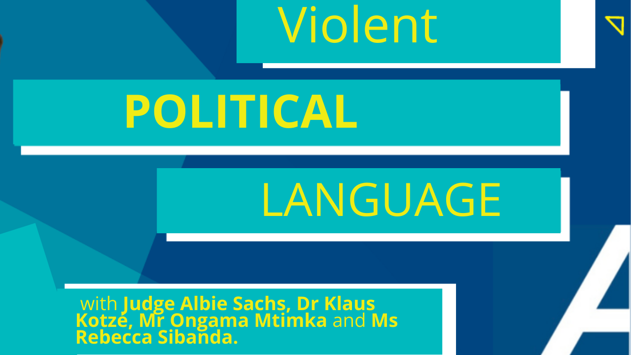 Violent political language - an attack on the nation?